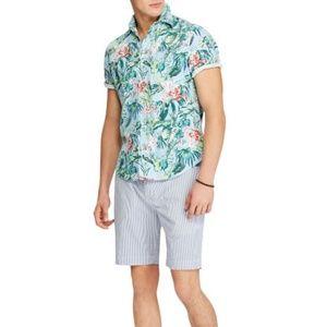 Ralph Lauren Polo Hawaiian Shirt Mens XL